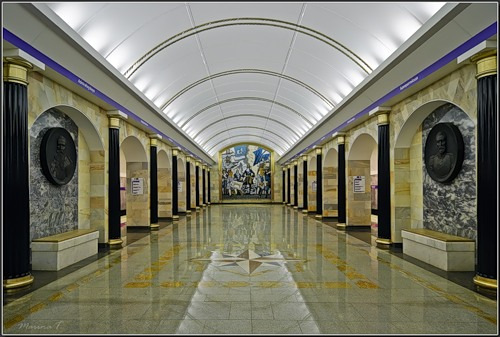 Admiralteyskaya – was opened
